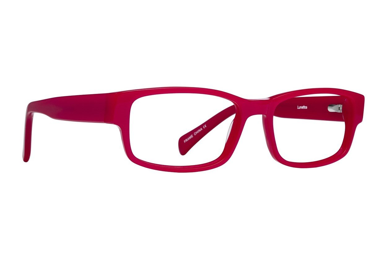 Lunettos Taylor Red Glasses
