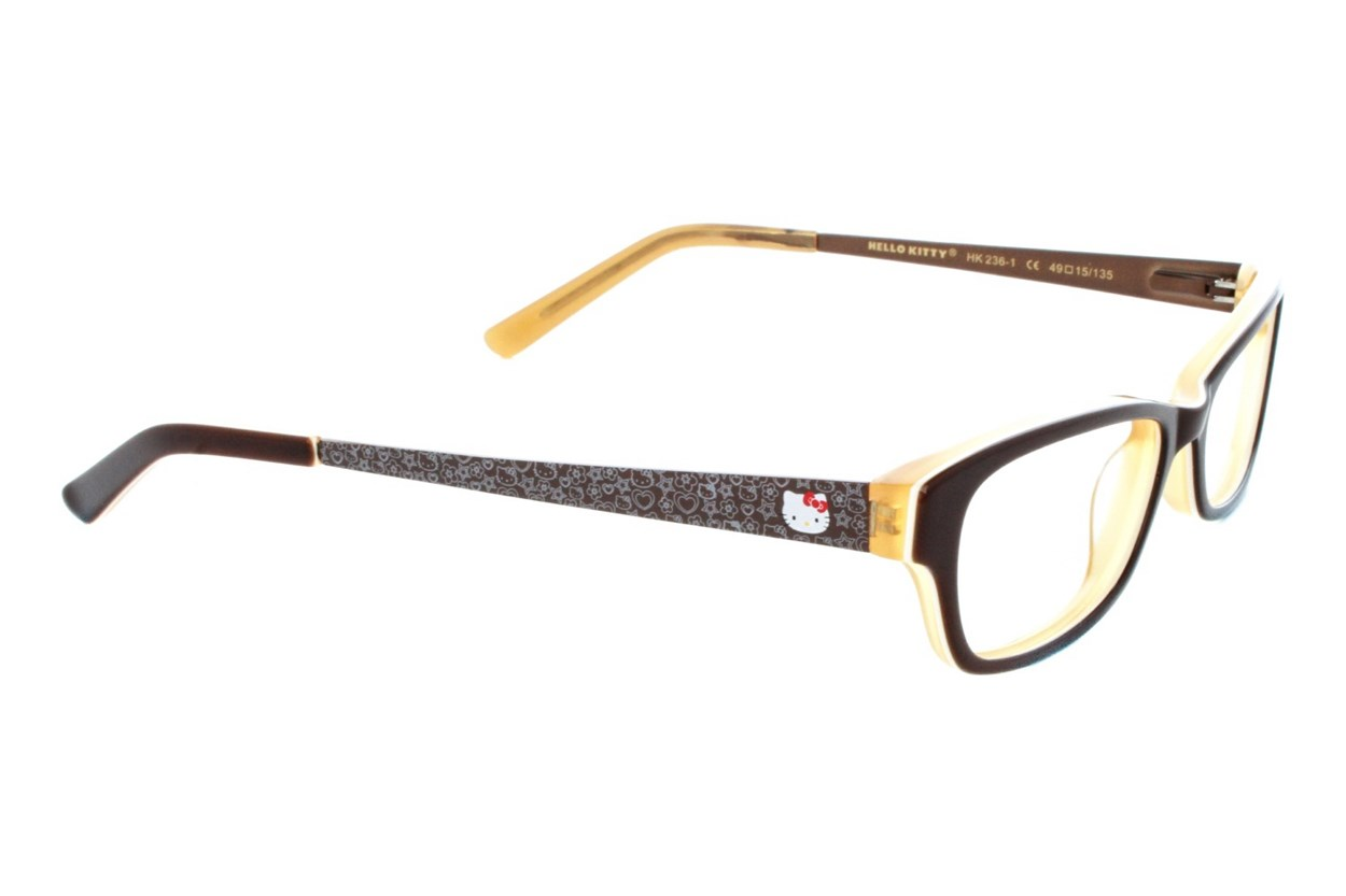 Hello Kitty HK236 Eyeglasses - Brown