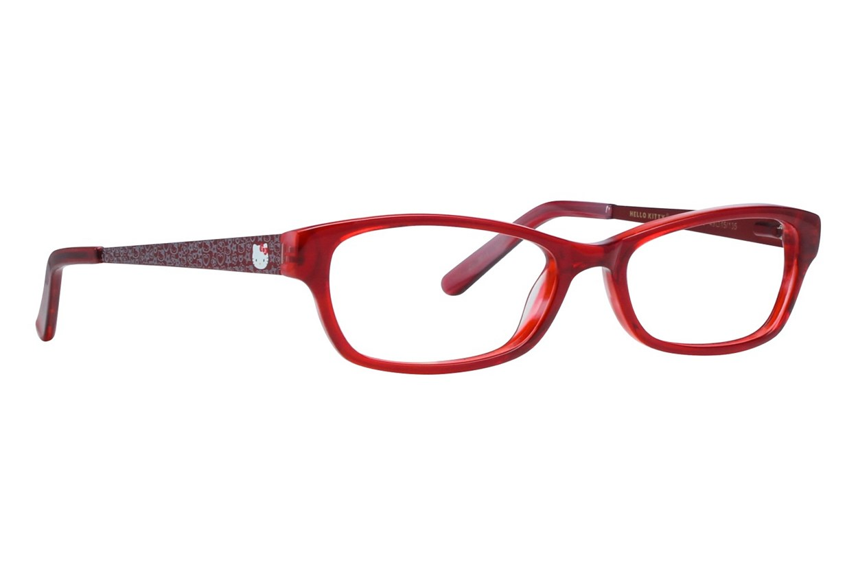 Hello Kitty HK236 Eyeglasses - Red