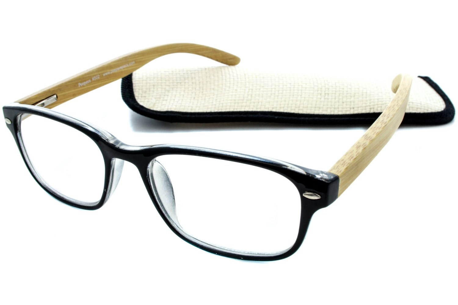 peepers bravo bamboo reading glasses dealtrend