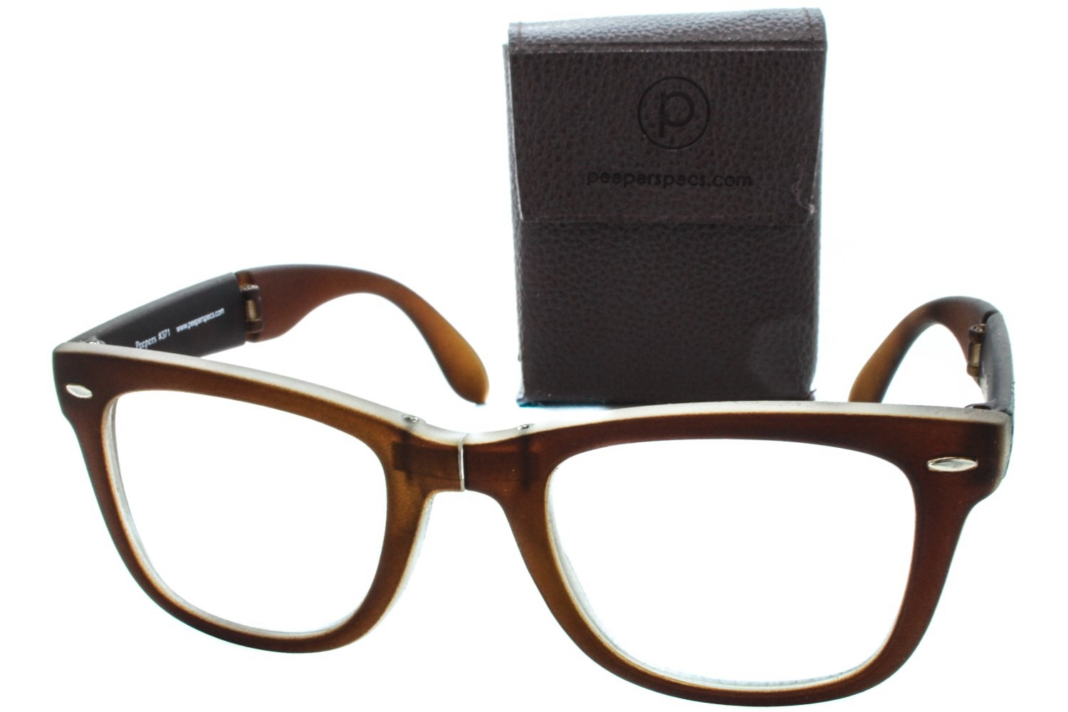 peepers centerfold folding reading glasses dealtrend