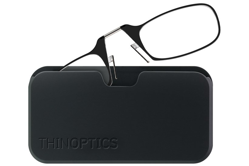 2c23775a208e Black Black Bundle. Click to swap image to ThinOPTICS Reading Glasses with Universal  Pod Case Bundle