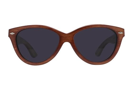 Proof McCall Mahogany Red Sunglasses