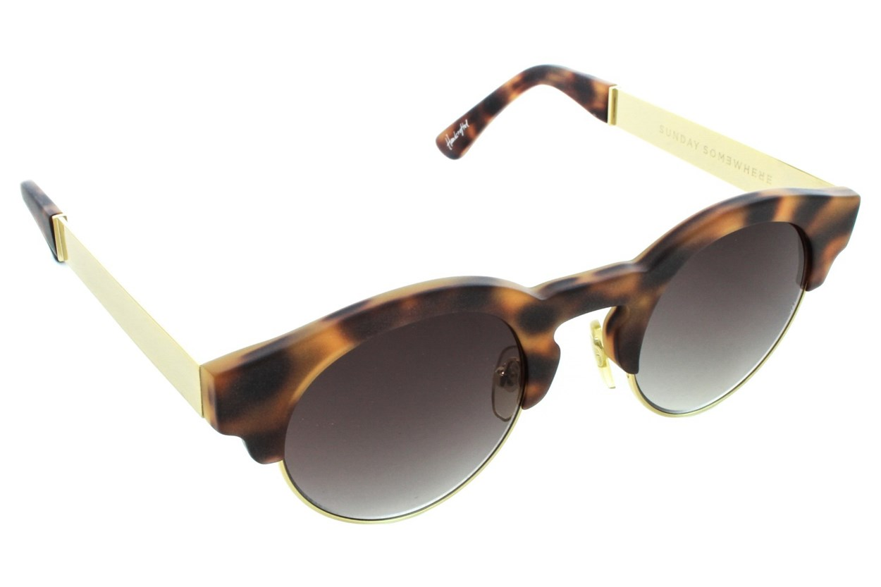 Sunday Somewhere Soelae Metal Tortoise Sunglasses