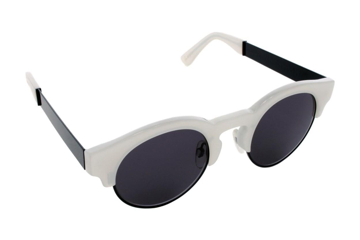 Sunday Somewhere Soelae Metal White Sunglasses