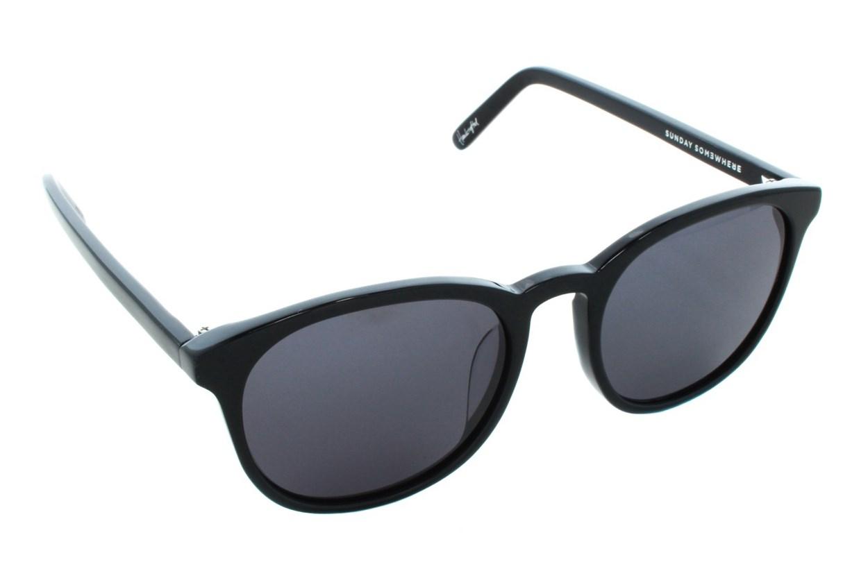 Sunday Somewhere Alita Black Sunglasses