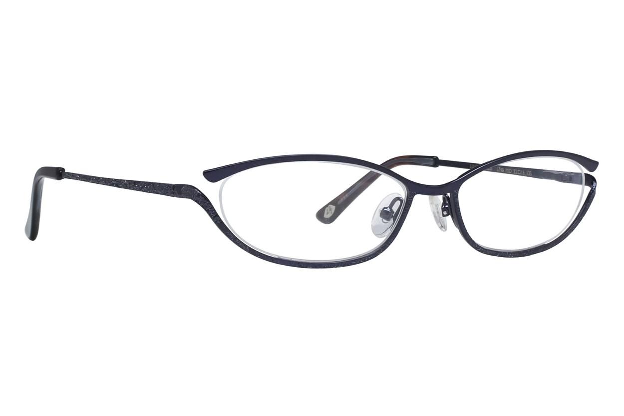 Lulu Guinness L748 Blue Glasses