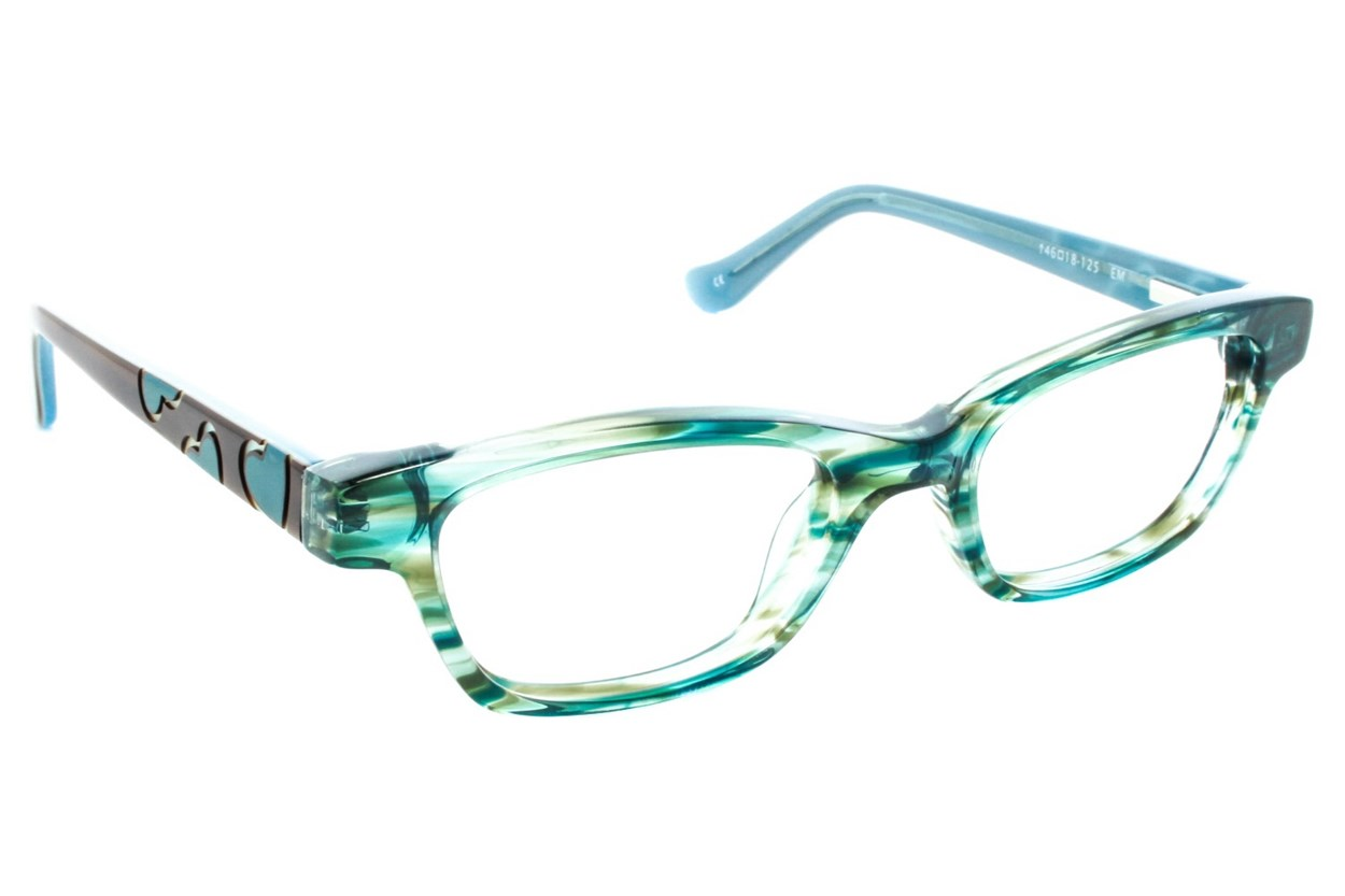 Kensie Girl Dancing Green Glasses