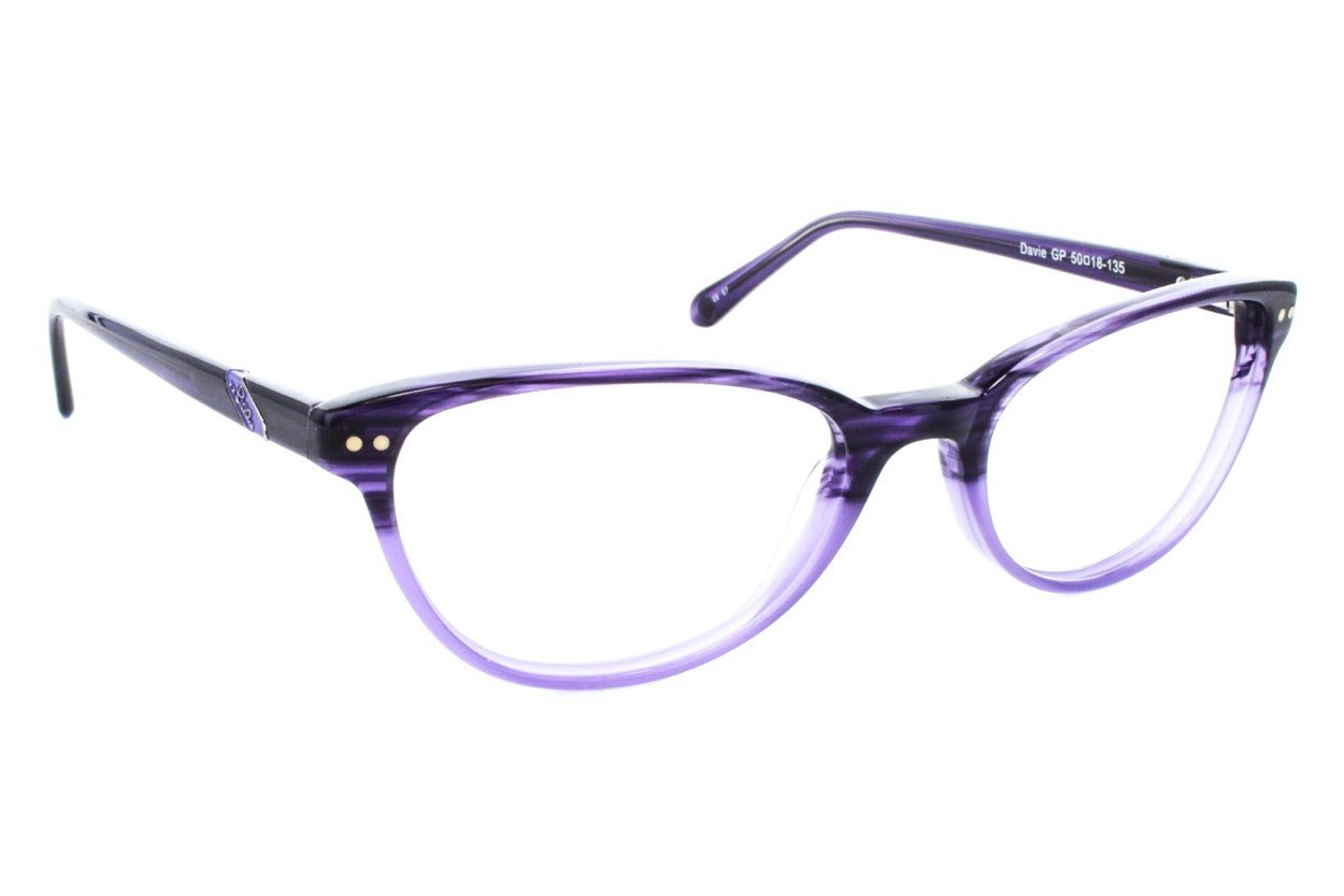 Lilly Pulitzer Davie Purple Glasses