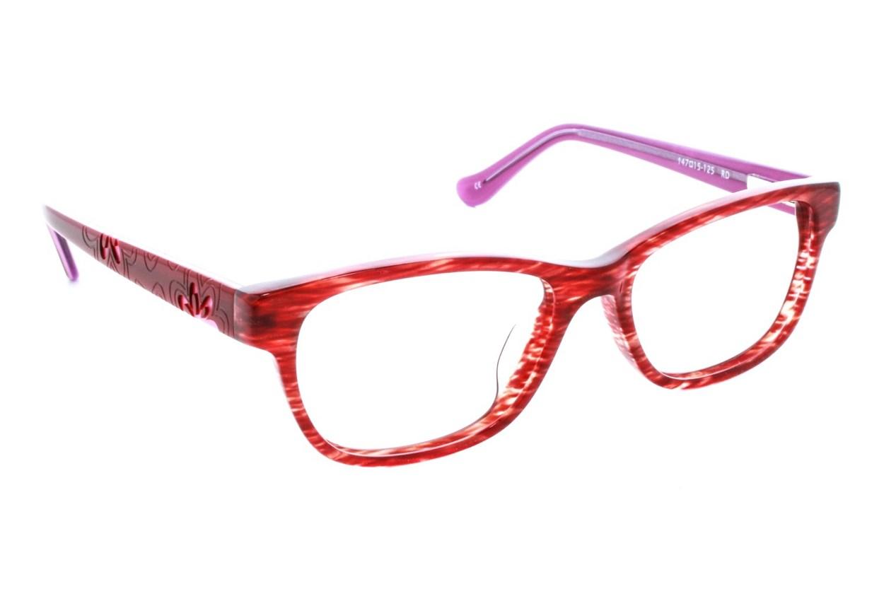Kensie Girl Flower Red Glasses