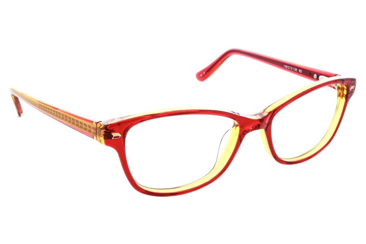Kensie Kiss Red Glasses