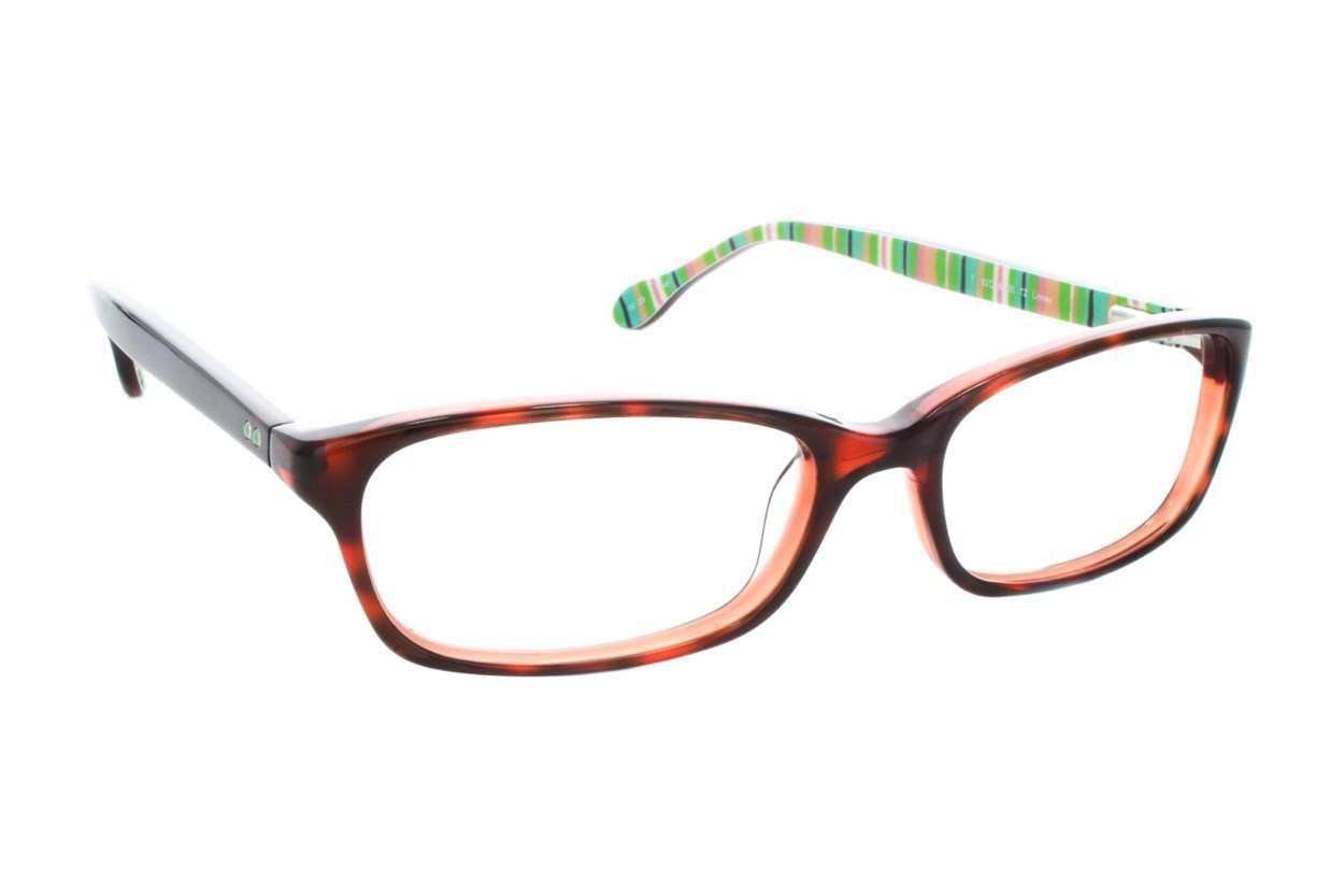 Lilly Pulitzer Linney Brown Glasses