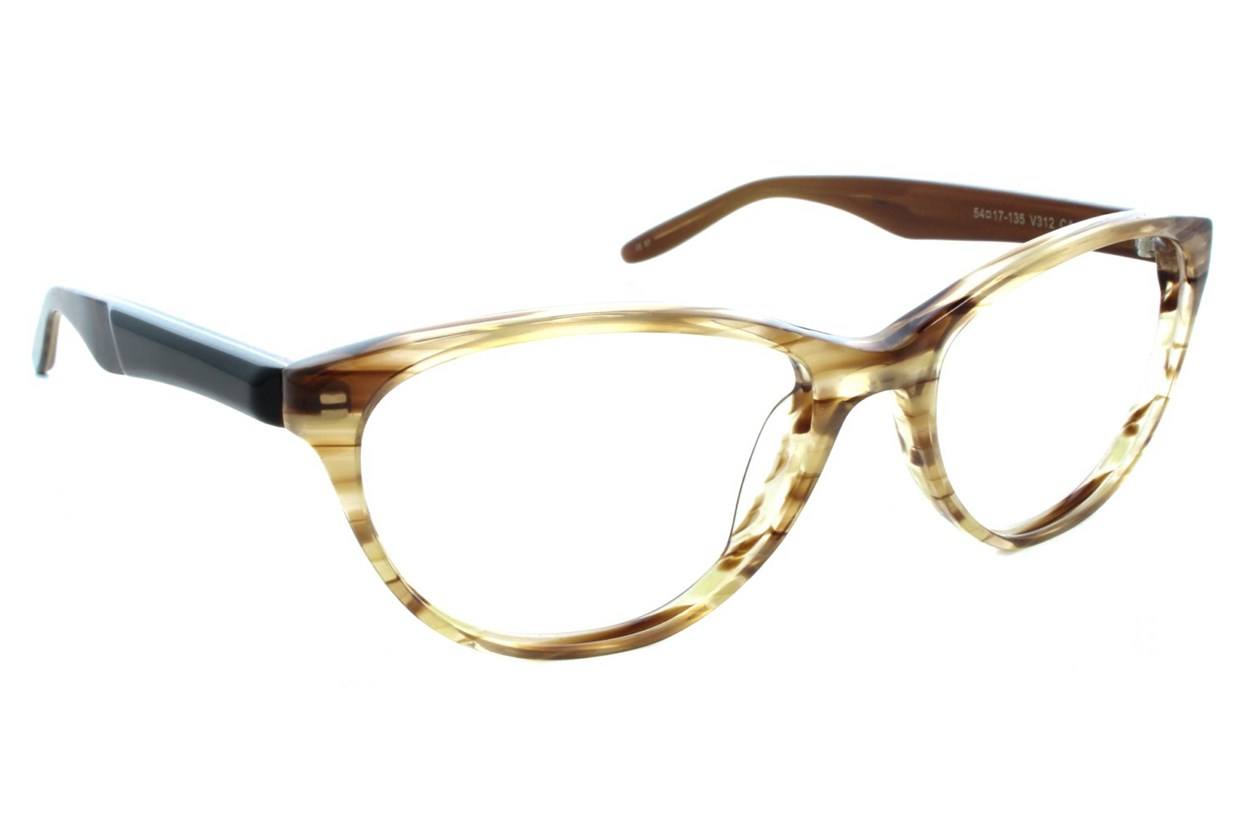 Vera Wang V312 Tan Glasses