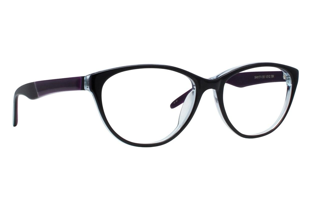 Vera Wang V312 Black Glasses