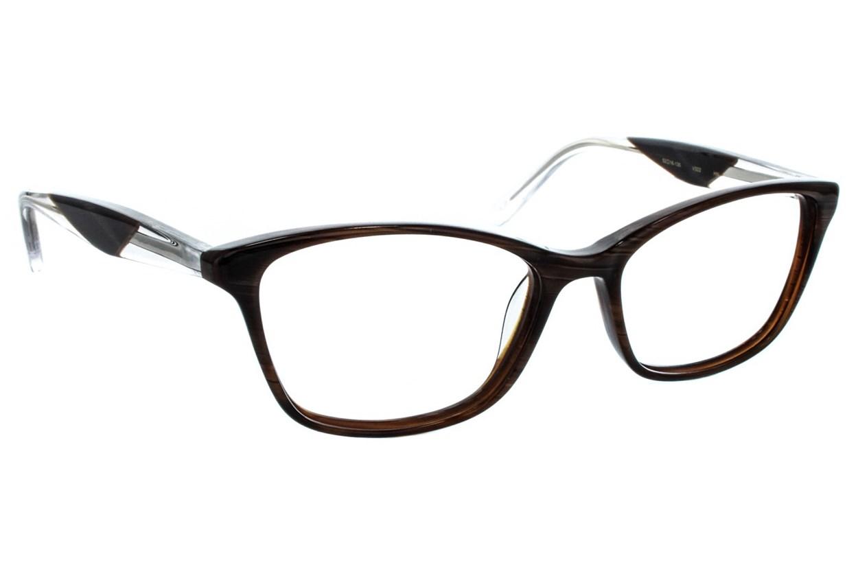 Vera Wang V322 Brown Glasses