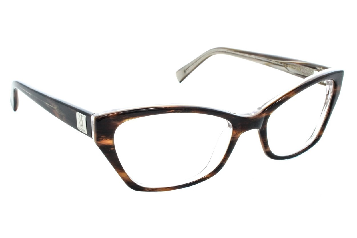Vera Wang V323 Eyeglasses - Brown
