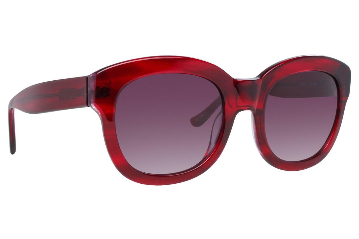 Kensie Bff Red Sunglasses