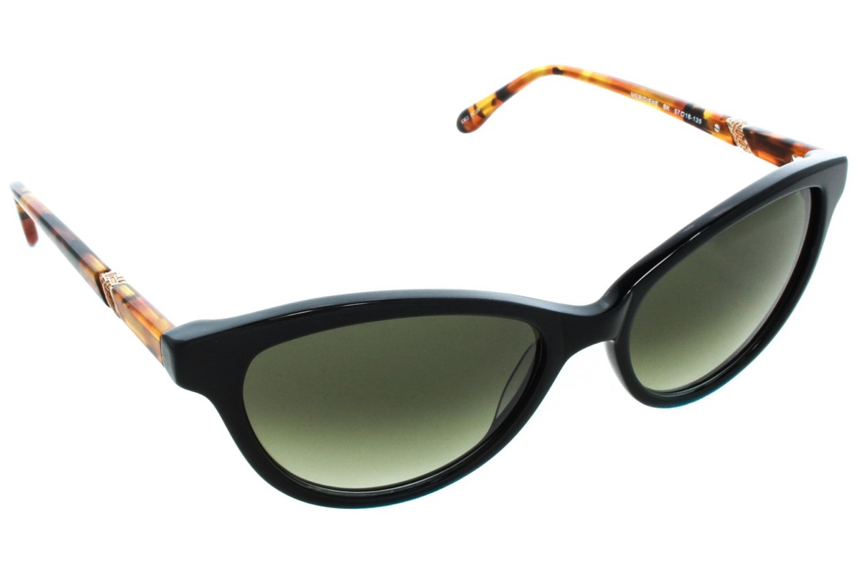 Lilly Pulitzer Meridiene Sunglasses - Black