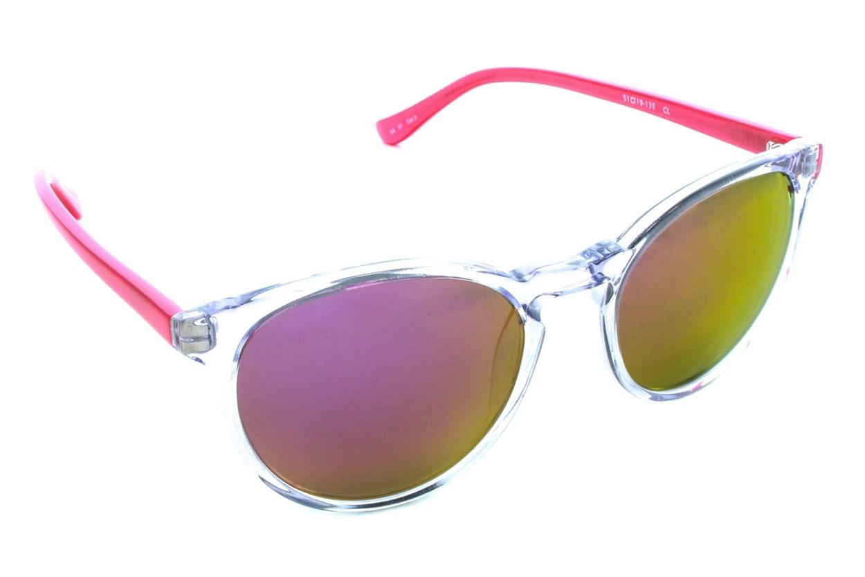 Kensie Retro Sun Clear Sunglasses