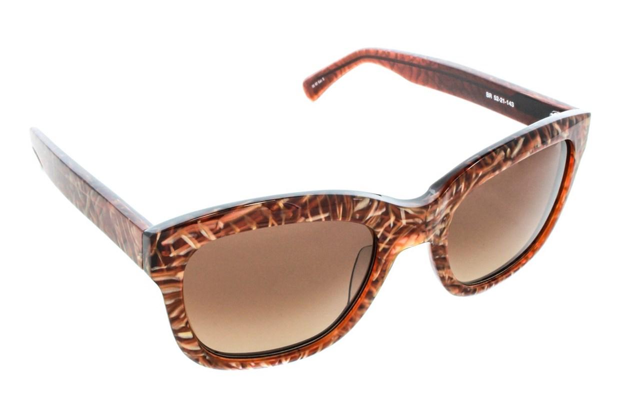 Kensie Shatter Me Brown Sunglasses