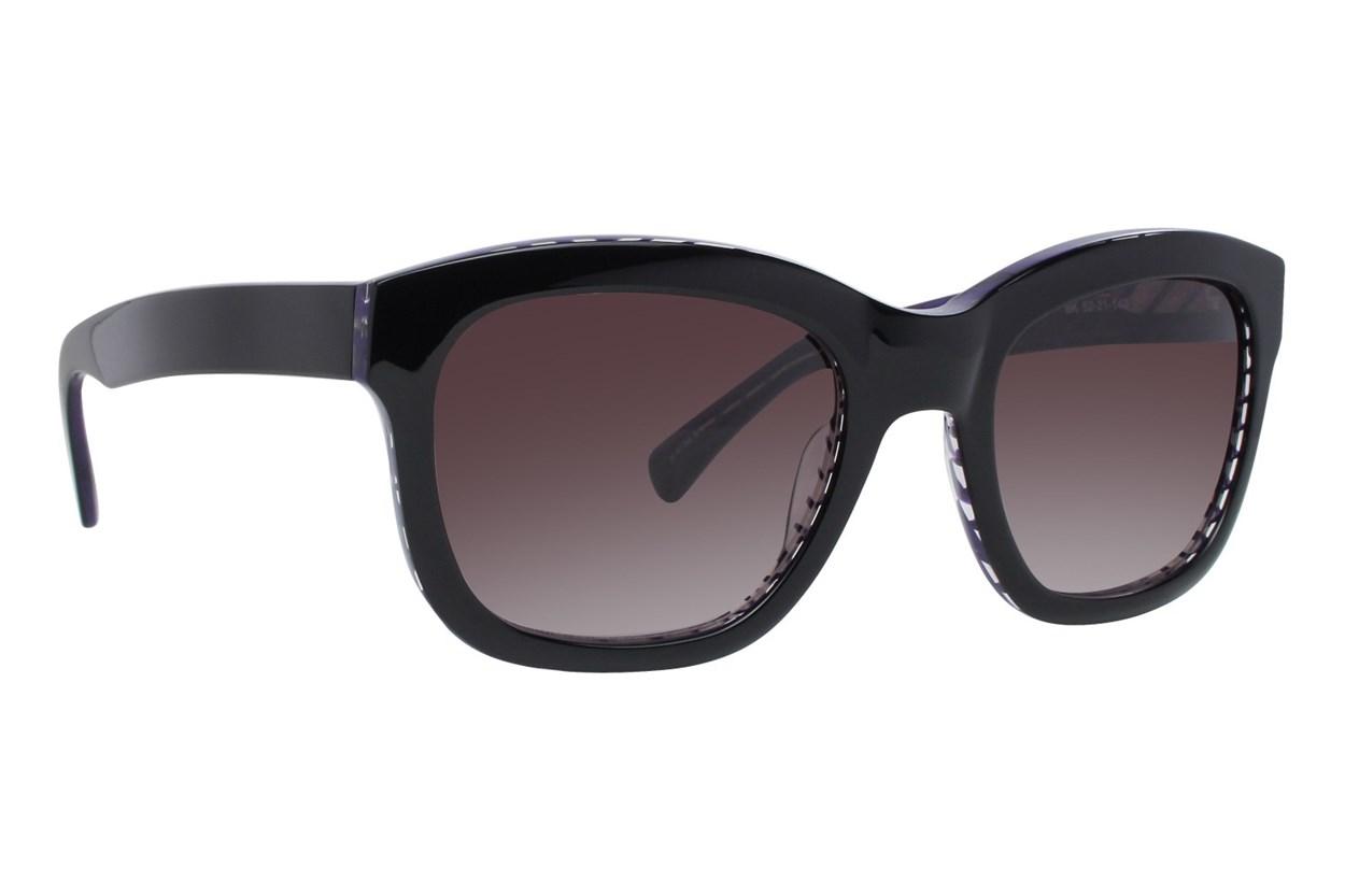 Kensie Shatter Me Black Sunglasses