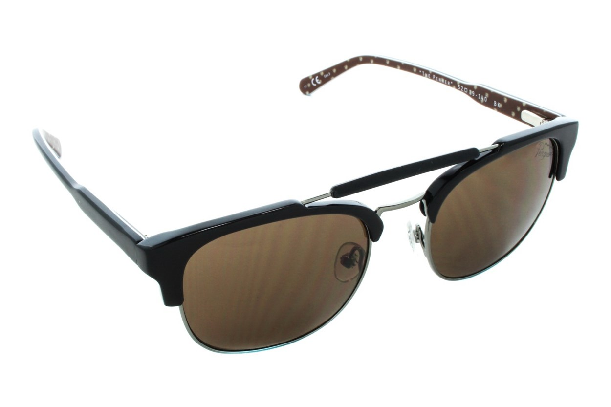 Original Penguin The Pinner Black Sunglasses