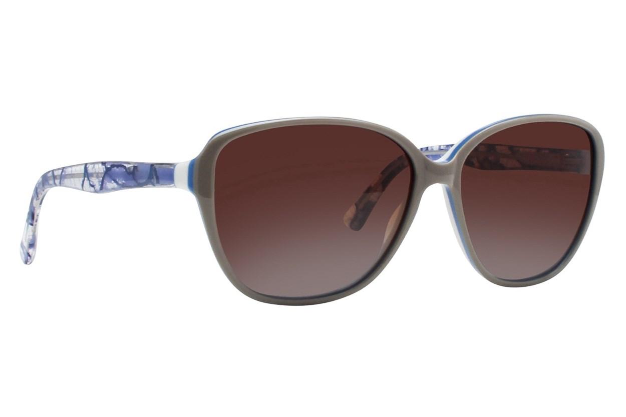 Vera Wang V411 Tan Sunglasses