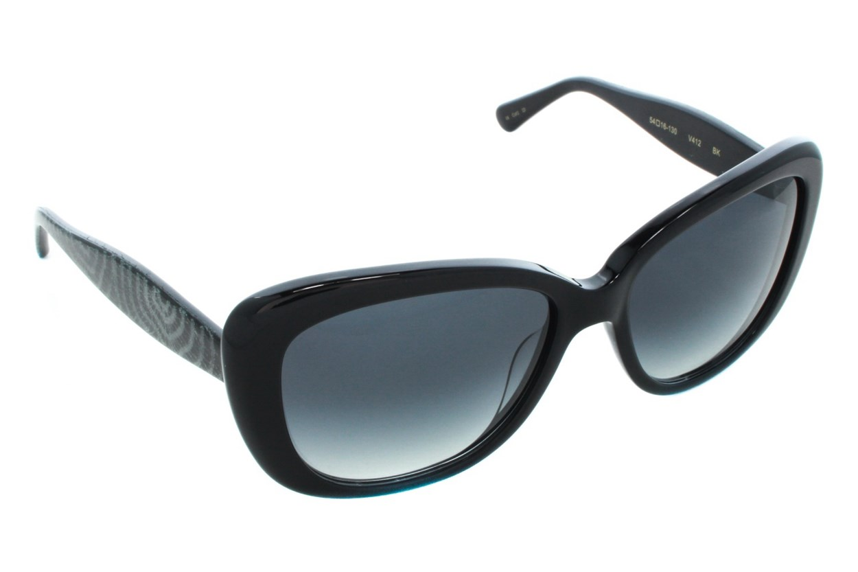 Vera Wang V412 Sunglasses - Black