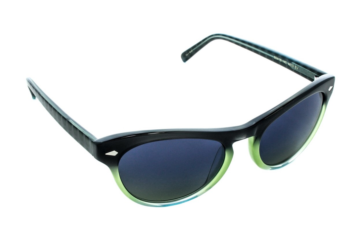 Vera Wang V413 Green Sunglasses