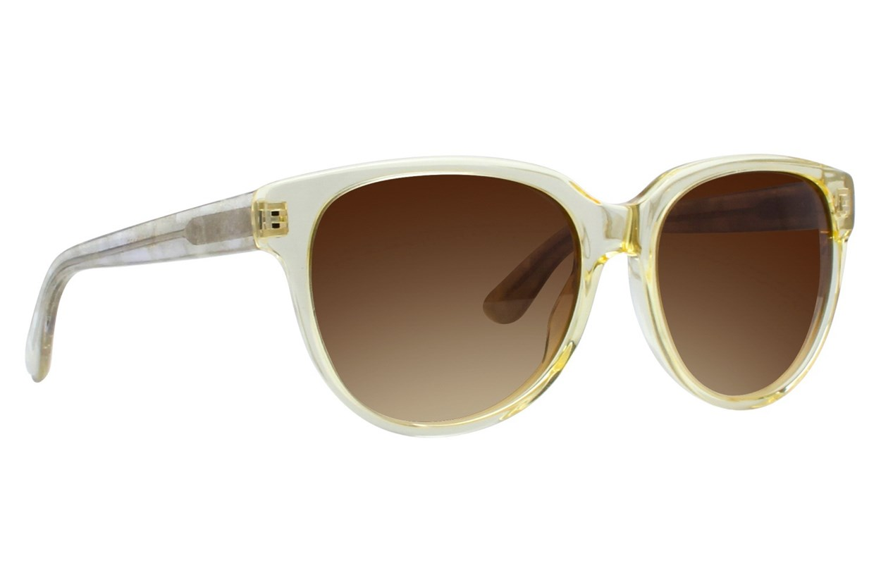 Vera Wang V414 Clear Sunglasses