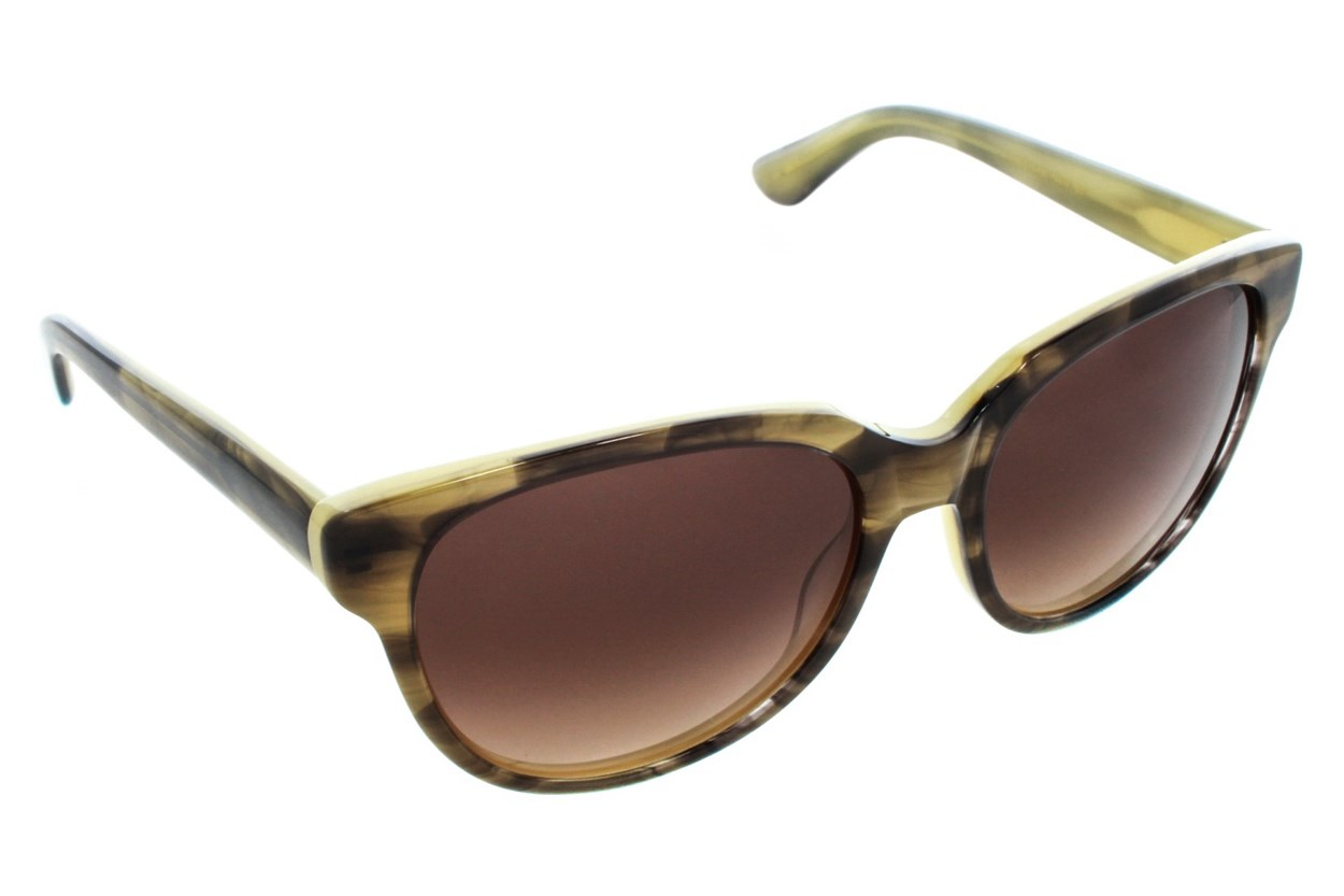 Vera Wang V414 Brown Sunglasses
