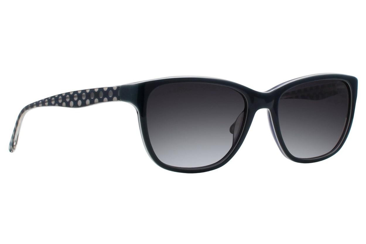 Vera Wang V415 Turquoise Sunglasses