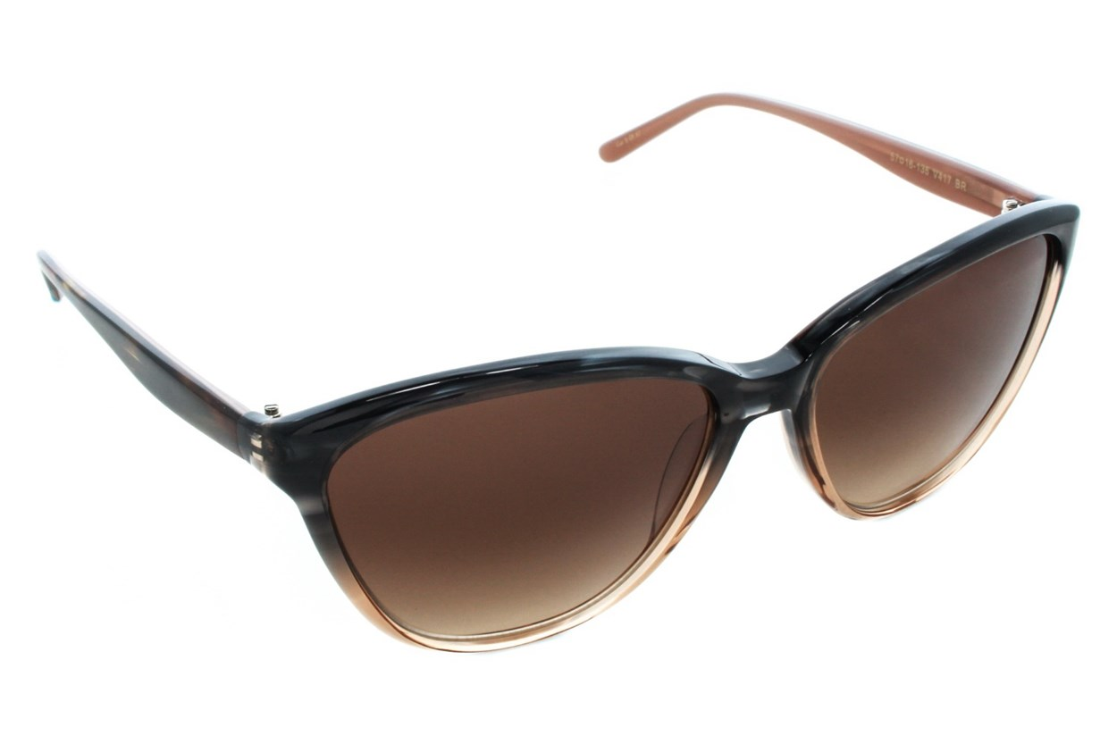 Vera Wang V417 Sunglasses - Brown