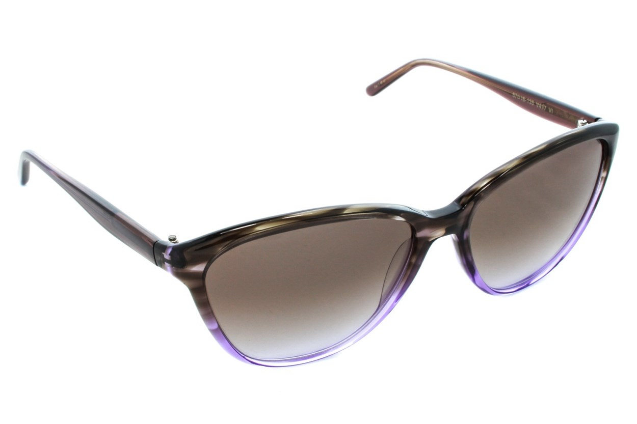Vera Wang V417 Purple Sunglasses