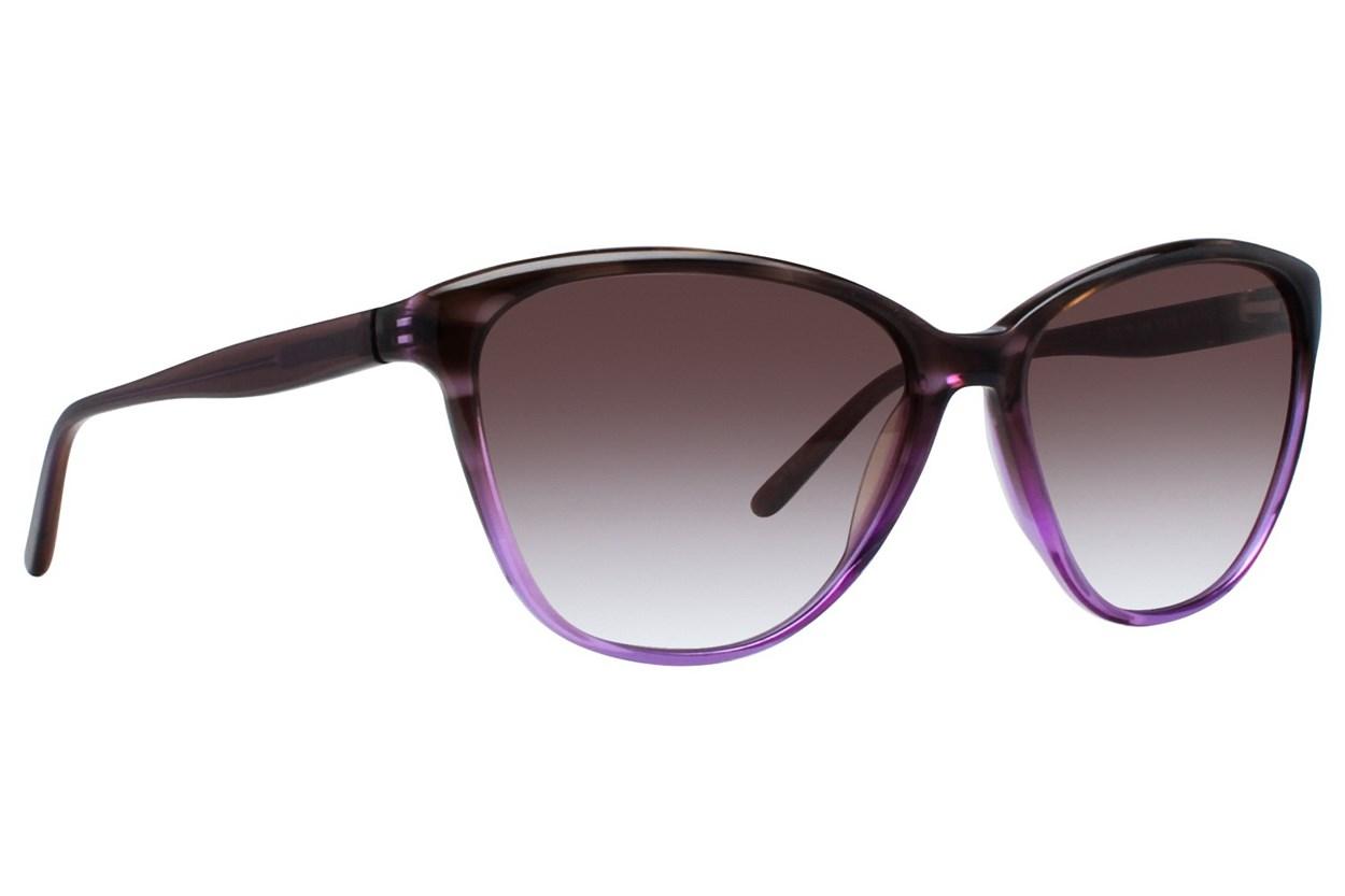 Vera Wang V417 Purple Sunglasses