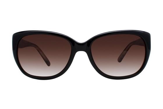 Vera Wang V418 Black Sunglasses