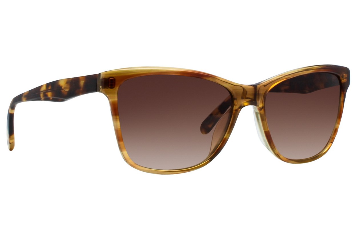Vera Wang V419 Brown Sunglasses