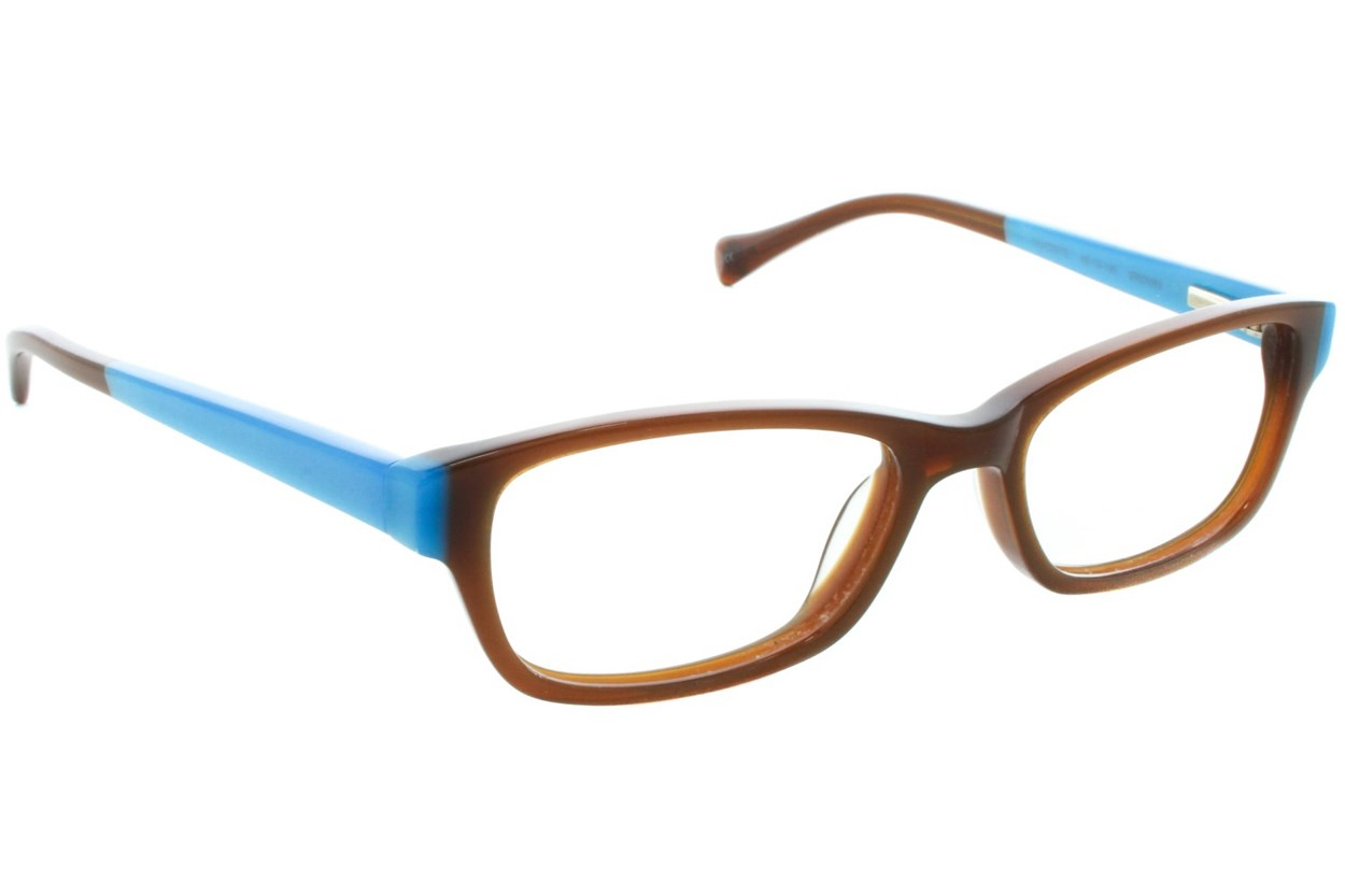 Lucky Favorite Small Brown Glasses
