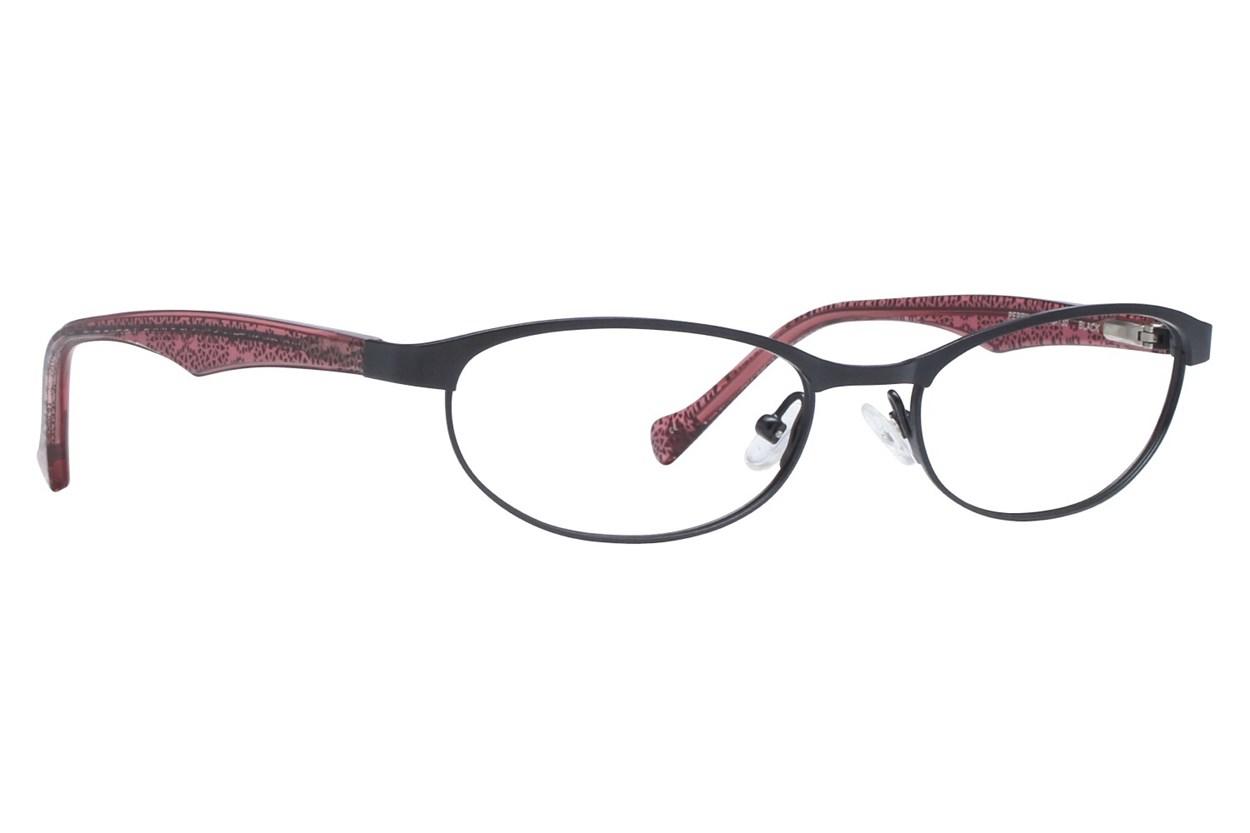 Lucky Peppy Black Glasses