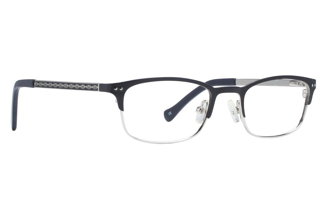 Lucky Smarty Small Black Glasses