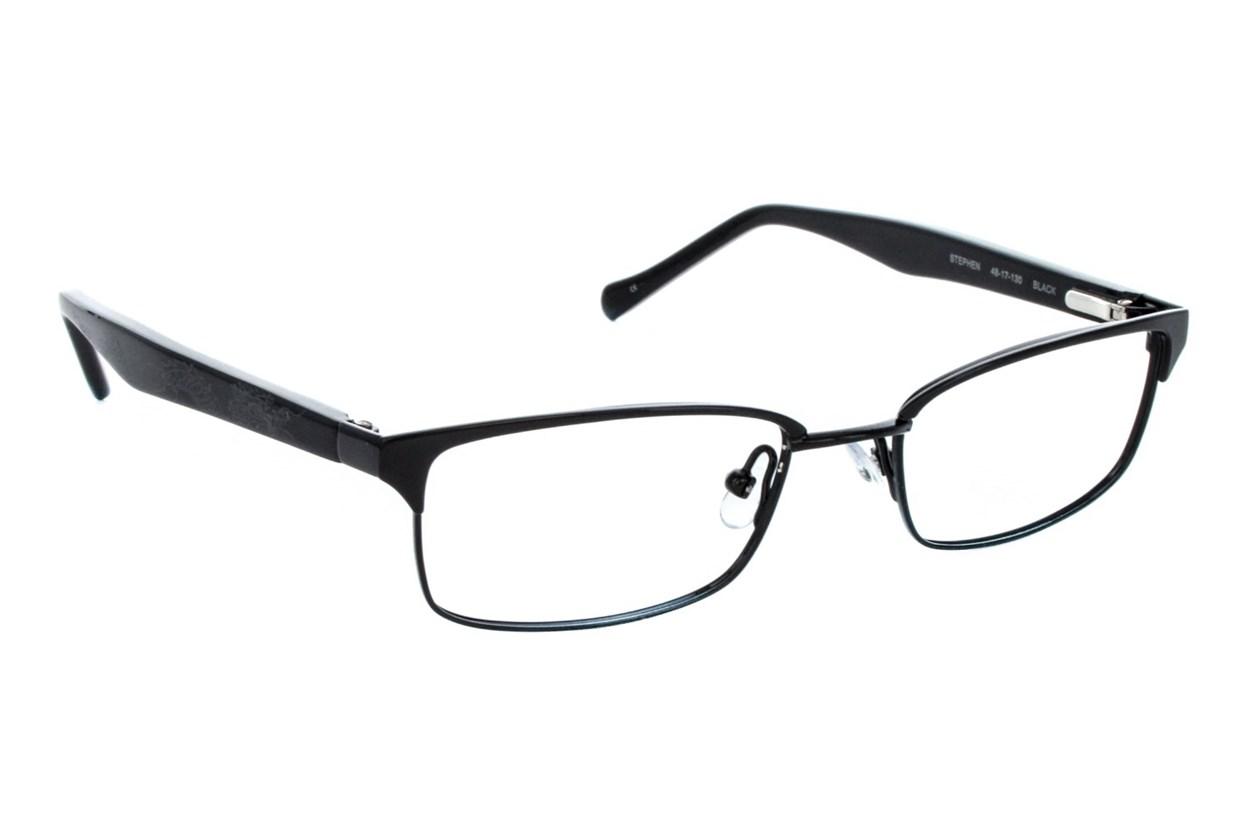 Lucky Stephen Small Black Glasses