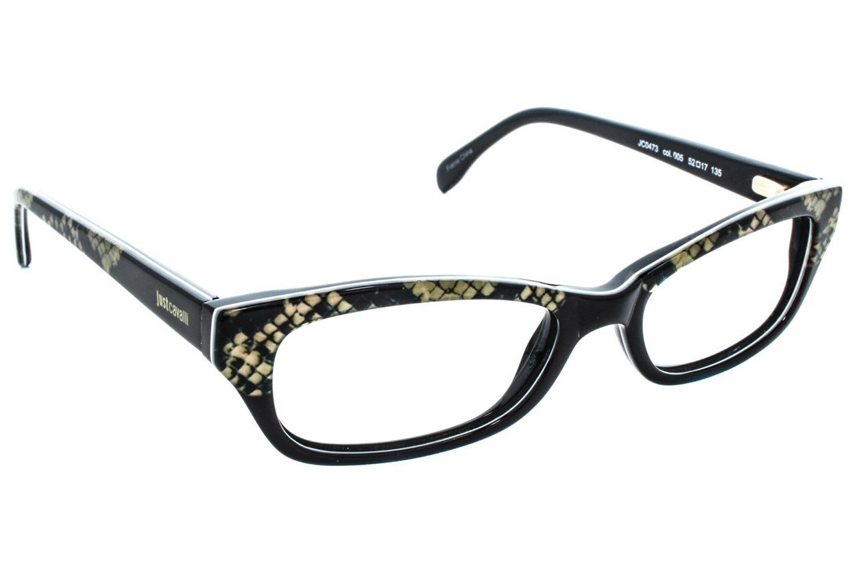 Just Cavalli JC0473 Black Glasses