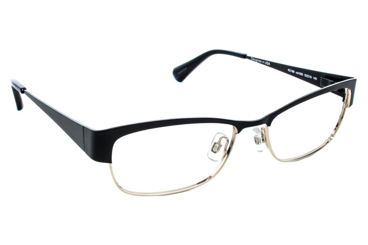 Kenneth Cole New York KC0199 Black Glasses