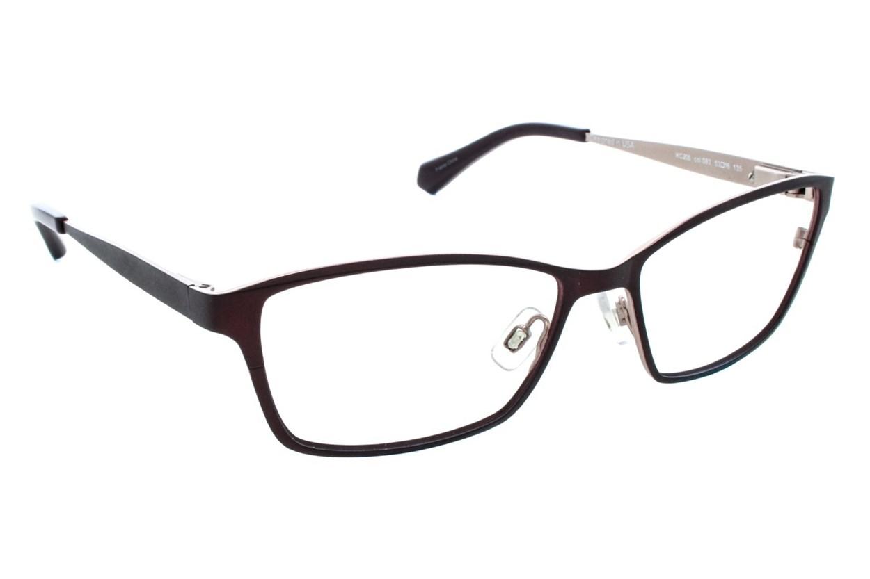 Kenneth Cole New York KC0206 Purple Glasses