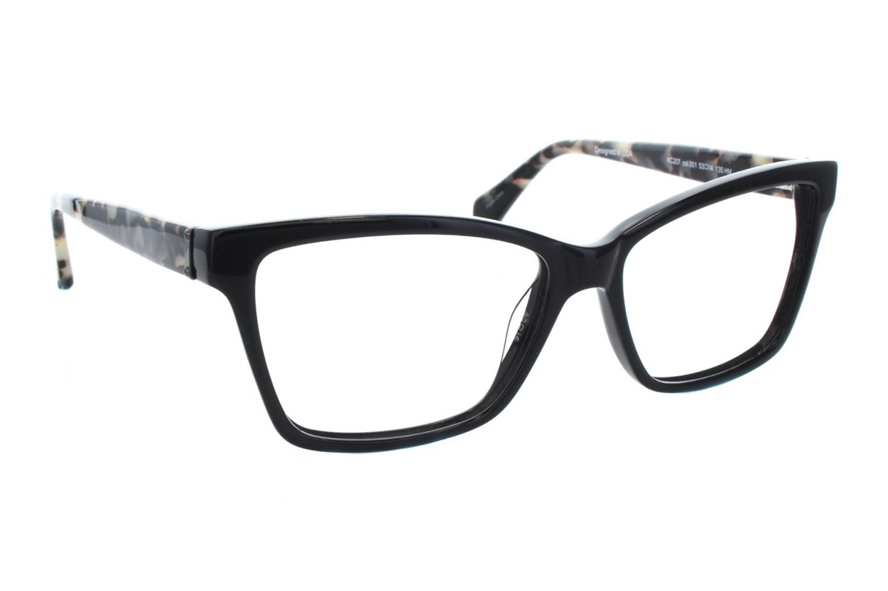 Kenneth Cole New York KC0207 Black Glasses
