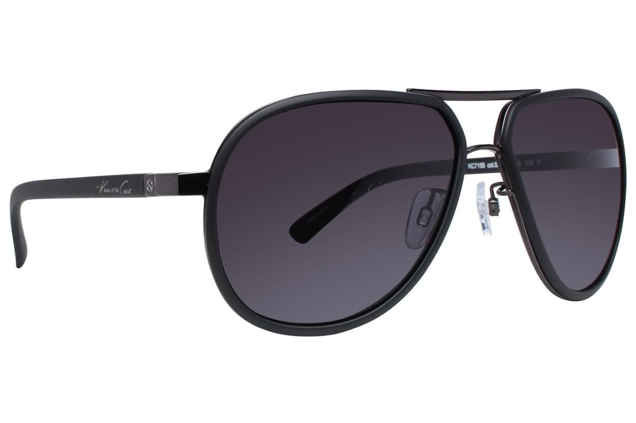 Kenneth Cole New York KC7155 Black Sunglasses
