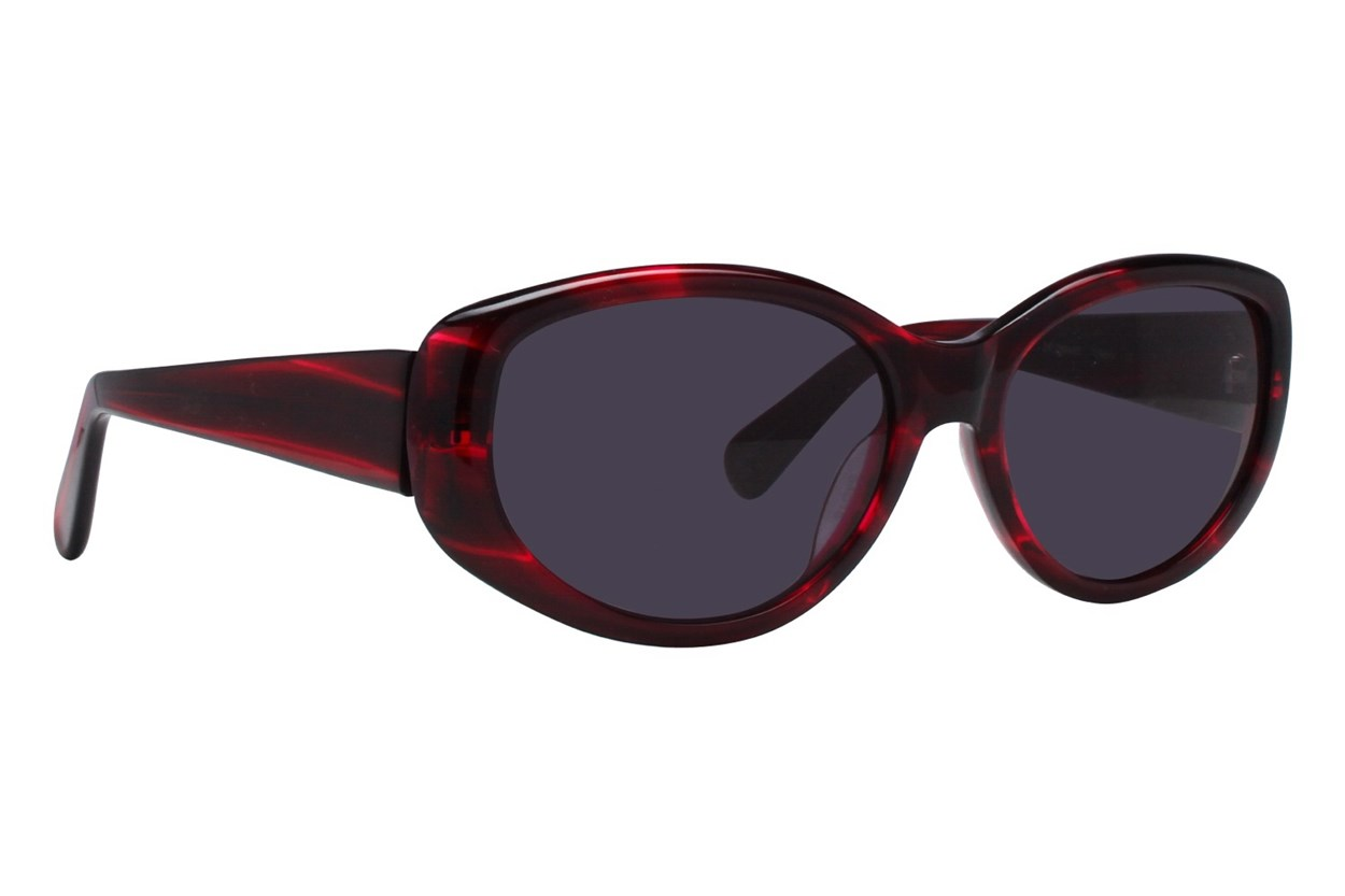Via Spiga 329-S Red Sunglasses