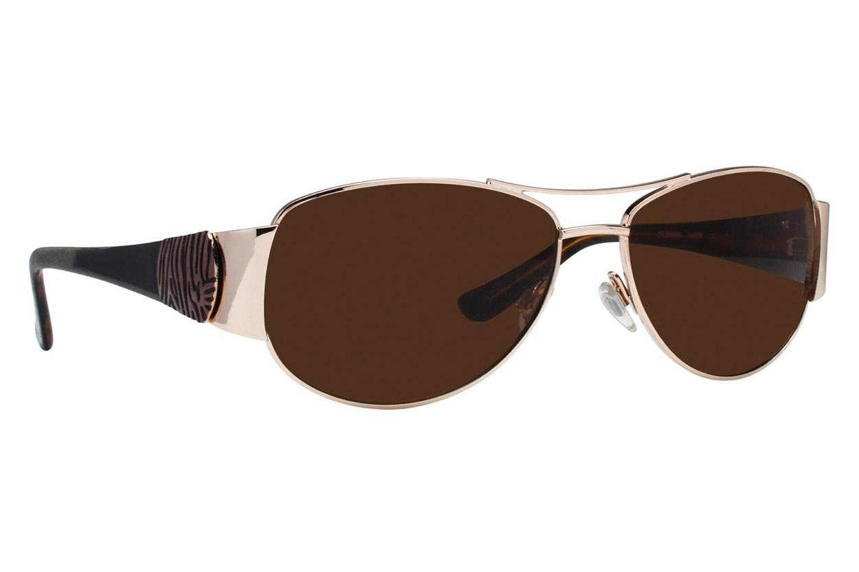 Via Spiga 414-S Gold Sunglasses
