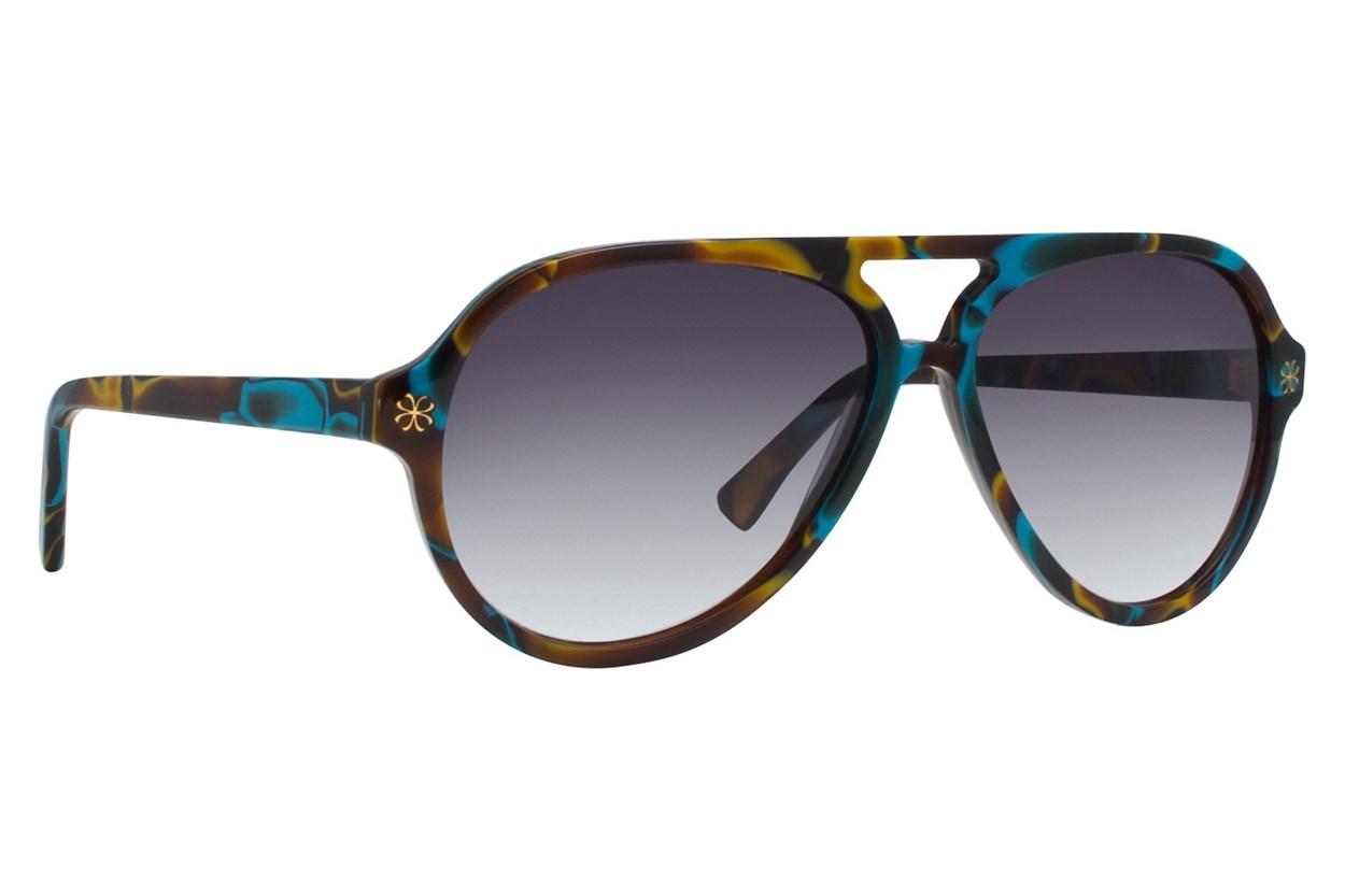 Velvet Eyewear Ava Green Sunglasses