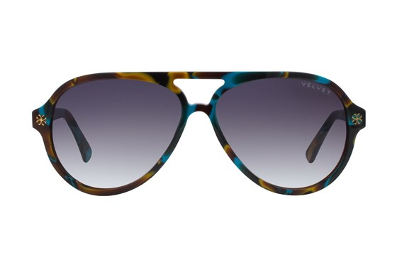 Velvet Eyewear Ava Green Sunglasses